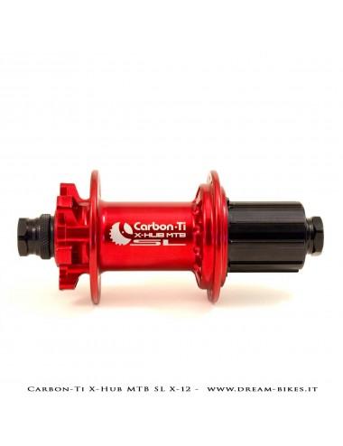 Carbon-Ti X-Hub SL Rear MTB Hub