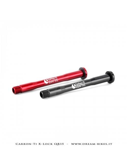 Carbon-Ti X-Lock QR15 Perno Passante Ruota Anteriore 15x100 e 15x110 Boost