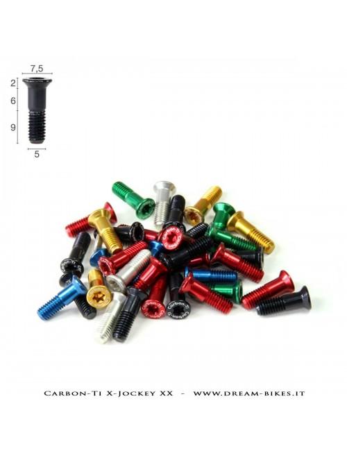 Carbon-Ti X-Jockey Wheels Derailleur Bolts Kit