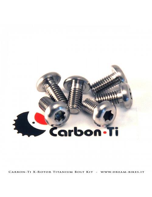 Carbon-Ti X-Rotor Titanium Bolt Kit