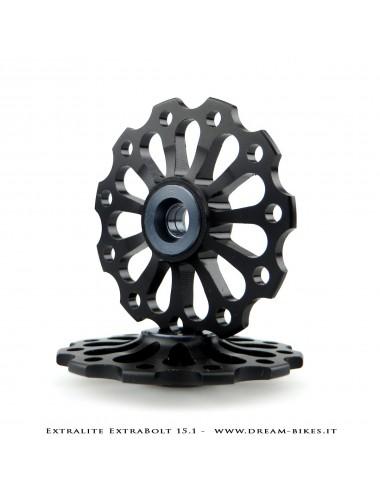 Extralite ExtraBolt 15.1 Ultralight 11 Teeth Rear Derailleur Jockey Wheels