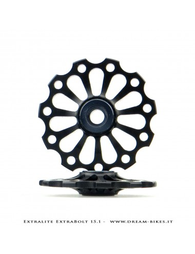 Extralite ExtraBolt 15.1 Pulegge Cambio 11 Denti Ultraleggere