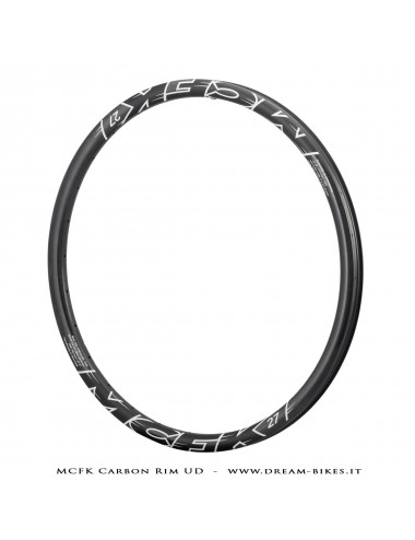 "MCFK Carbon Clincher Rim 29"" 35 mm 375 gr."
