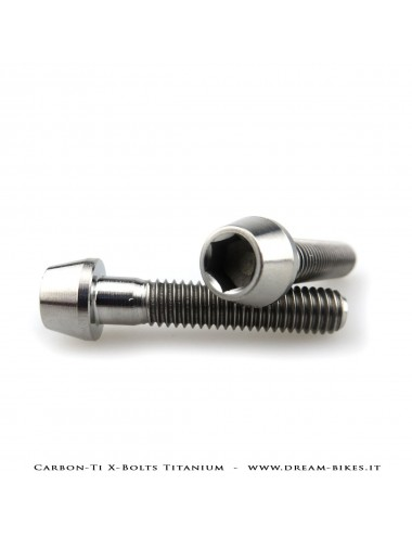 Carbon-Ti X-Bolts Titanium Tapered Hexagon Socket Head Bolts TCCE