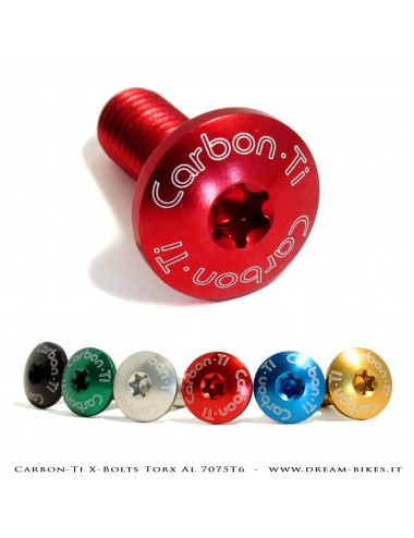 Carbon-Ti Viti Ergal Portaborraccia M5 Torx