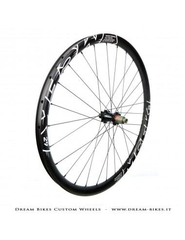 "MCFK 29"" wheels 1190 gr. Extralite HyperHubs, Alpina Hyperlite"