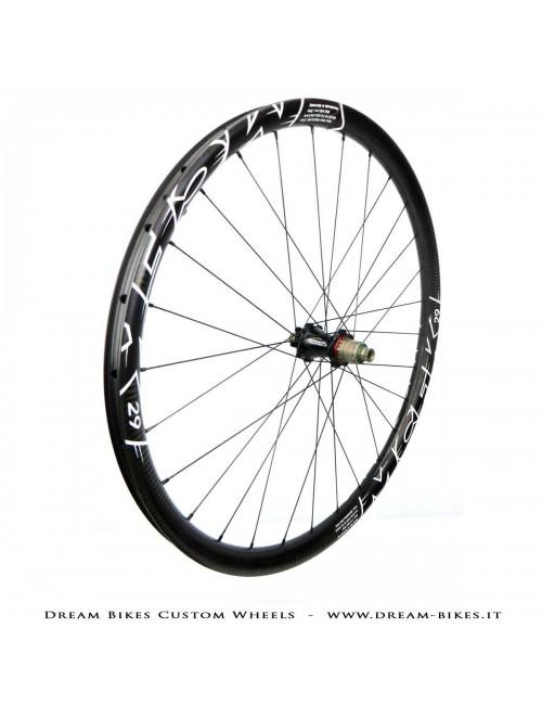"MCFK 29"" wheels 1190 gr. Extralite HyperHubs, Alpina Hyperlite"