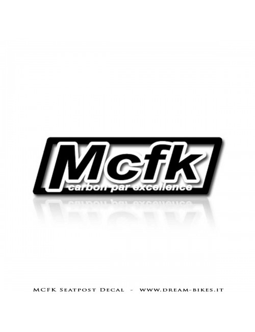 MCFK SeatPost Decals