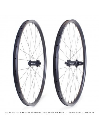 Carbon-Ti X-Wheel MountainCarbon SP 29er Ruote MTB 1250 gr.