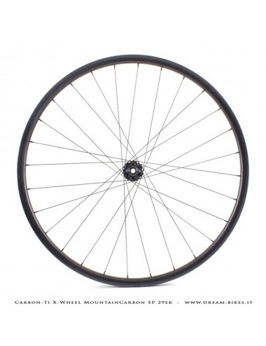 Carbon-Ti X-Wheel MountainCarbon SP 29er MTB Wheels 1250 gr.
