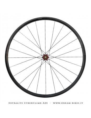 Extralite CyberClimb A25 785 gr. Tubular Wheels