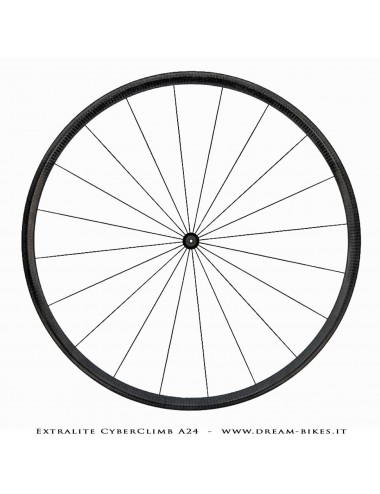 Extralite CarboClimb A25T Ruote Complete Tubolare 780 gr.