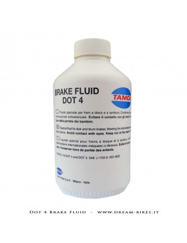 Tamoil DOT 4 Brake Fluid - 250 ml