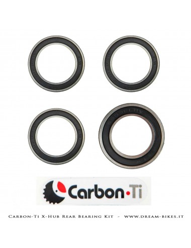 Carbon-Ti Bearing Kit For X-Hub SL/SP Rear Hubs