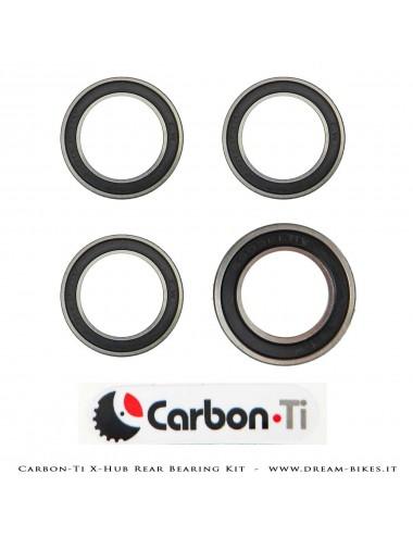 Carbon-Ti Bearing Kit For X-Hub SL/SP Rear Hubs