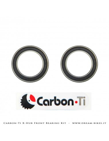 Carbon-Ti Bearing Kit For X-Hub SL/SP Front Hubs