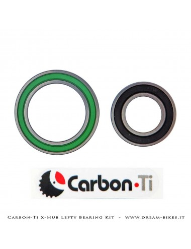 Carbon-Ti Bearing Kit For X-Hub X-Lefty SL/SP Front Hubs