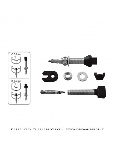 Effetto Mariposa Caffelatex Tubeless Valve (Pair)