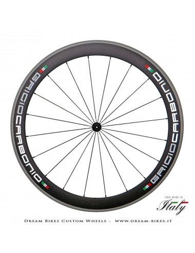Ultralight Road Carbon Tubular Wheels 50 x 25 mm GriogioCarbonio, Carbon-Ti, Alpina Weights From 1030 gr.