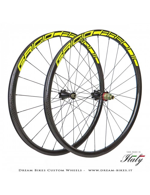 "Dream Bikes Kilo 29"" Custom Wheels GrigioCarbonio-Extralite-Alpina from 990 gr. The Lightest in the World!"