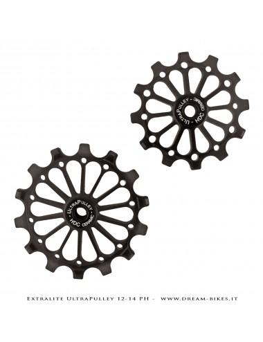 Extralite UltraPulley 12-14 PH Ultralight 12-14 Teeth Rear Derailleur Jockey Wheels For Sram 12s