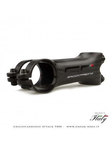 GrigioCarbonio Attack T800 Attacco Manubrio Carbon Ultraleggero