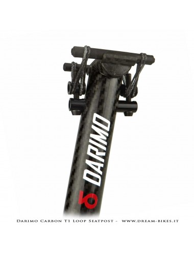 Darimo Carbon T1 Loop The Lightest Seatpost In The World!