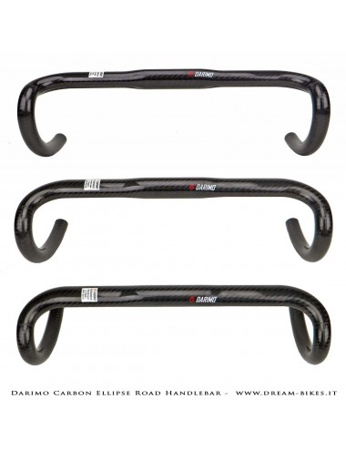 Darimo Carbon Ellipse Road Handlebar From 121 gr.