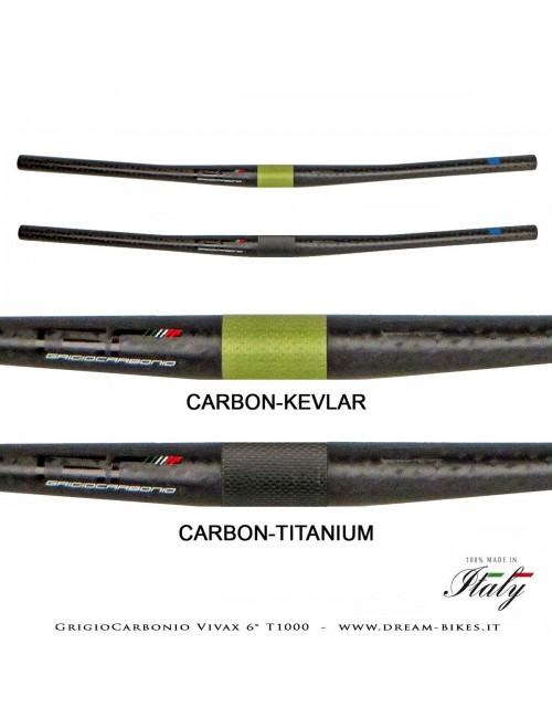 GrigioCarbonio Vivax 6° T1000 12K Ultralight Carbon Flatbar