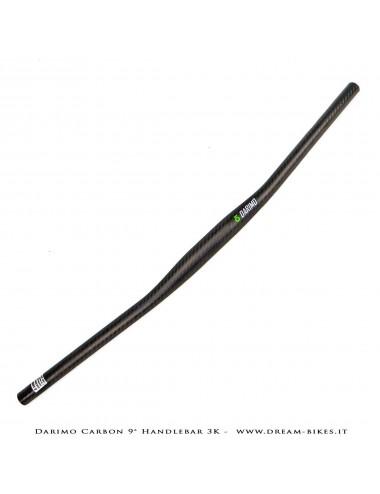 Darimo Carbon Curva Manubrio Flat 9° Ultraleggera da 79 gr.