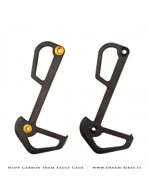 Hopp Carbon Mech Plate Inner Cage Sram Eagle 12s Rear Derailleurs XX1 AXS, XX1, X01, GX Tuning