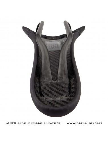 MCFK Sella Carbon Ultraleggera Rivestita in Pelle