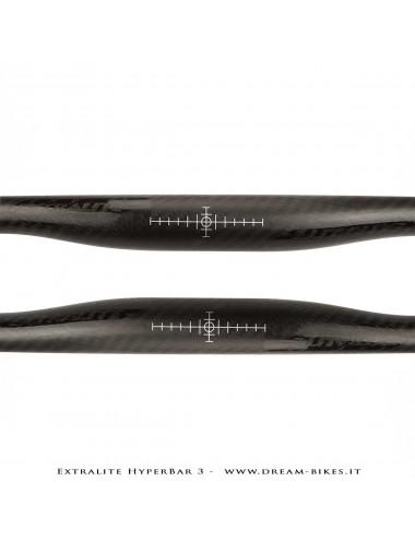 Extralite HyperBar 3 Ultralight Carbon Handlebar