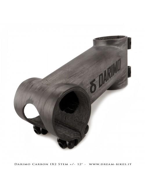 Darimo Carbon IX2 Attacco Manubrio Ultraleggero - 12 gradi