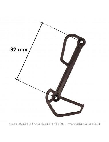 Hopp Carbon Mech Plate Inner Cage SL For Sram Eagle 12s Rear Derailleurs AXS, XX1, X01, GX Tuning