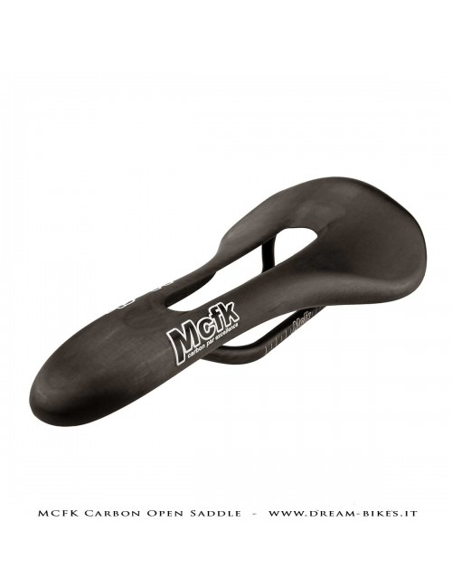 MCFK Carbon Open Ultralight Saddle From 69 gr.