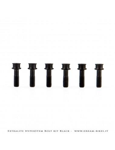 Extralite HyperStem Special Black Ti Torx Bolt (kit of 6)