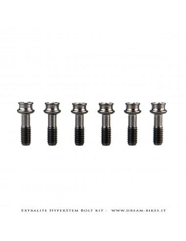 Extralite HyperStem Kit Viti Speciali In Titanio Torx (6 pezzi)