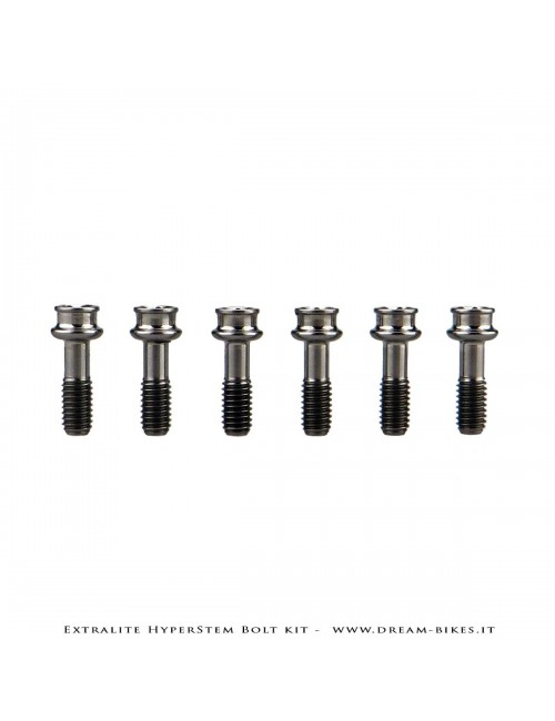 Extralite HyperStem Special Ti Torx Bolt (kit of 6)