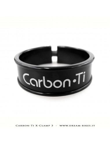 Carbon-Ti X-Clamp 3 Collarino Reggisella