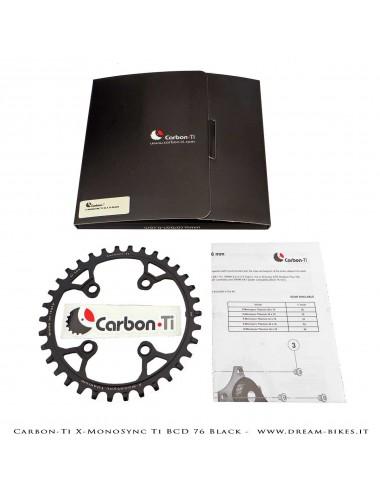 Carbon-Ti X-MonoSync Ti BCD 76 mm Monocorona in Titanio Nera