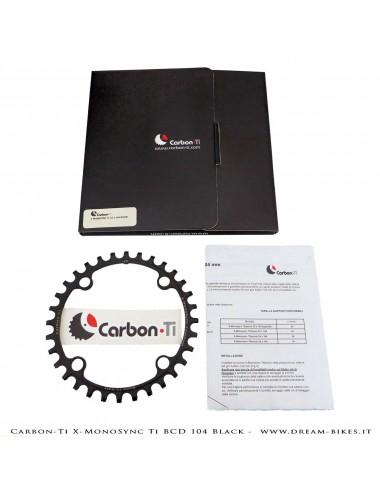 Carbon-Ti X-MonoSync Ti BCD 104 mm Monocorona in Titanio Nera
