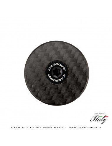 Carbon-Ti X-Cap Carbon Matte Ultralight Headset Cap