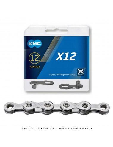 KMC X-12 SILVER 12S CHAIN 268 Gr.