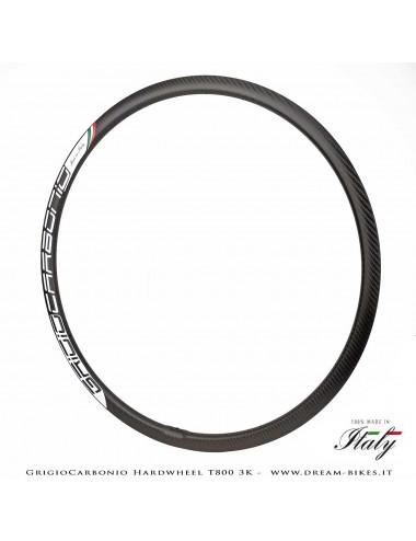 """GrigioCarbonio HardWheel Cerchio Carbon 29"""" T800 3K 315 gr."""