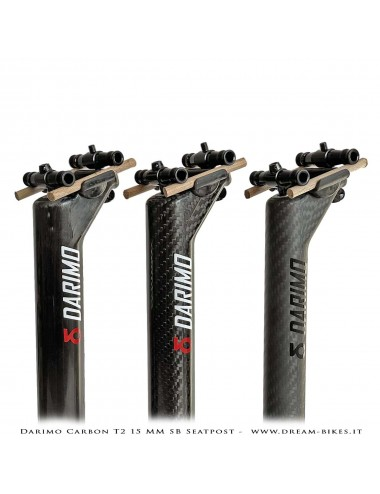 Darimo Carbon T2 SB Ultralight Seatpost With 15 mm Offset