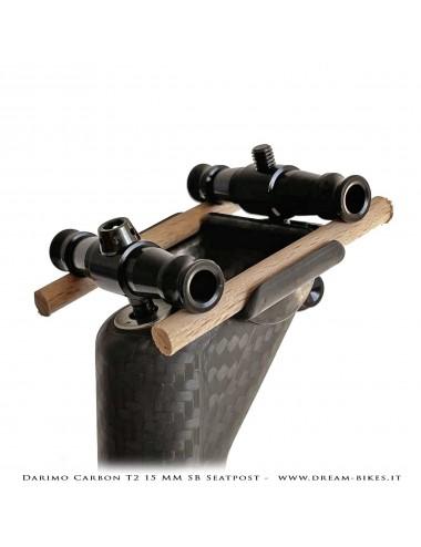 Darimo Carbon T2 SB Reggisella Arretrato Ultraleggero -15 mm