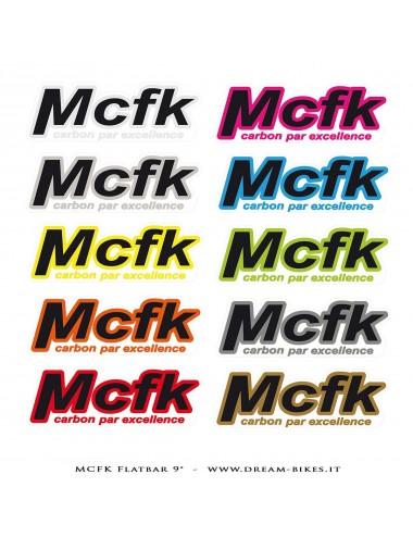 MCFK MTB Carbon Flatbar 9°