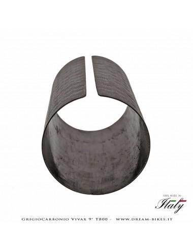 GrigioCarbonio Vivax Flat 9° T800 Curva Manubrio Carbon Ultraleggera 3K o UD