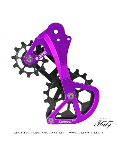 MPM Tech Kit Gabbia Cambio Exchange Sram Eagle AXS 12v
